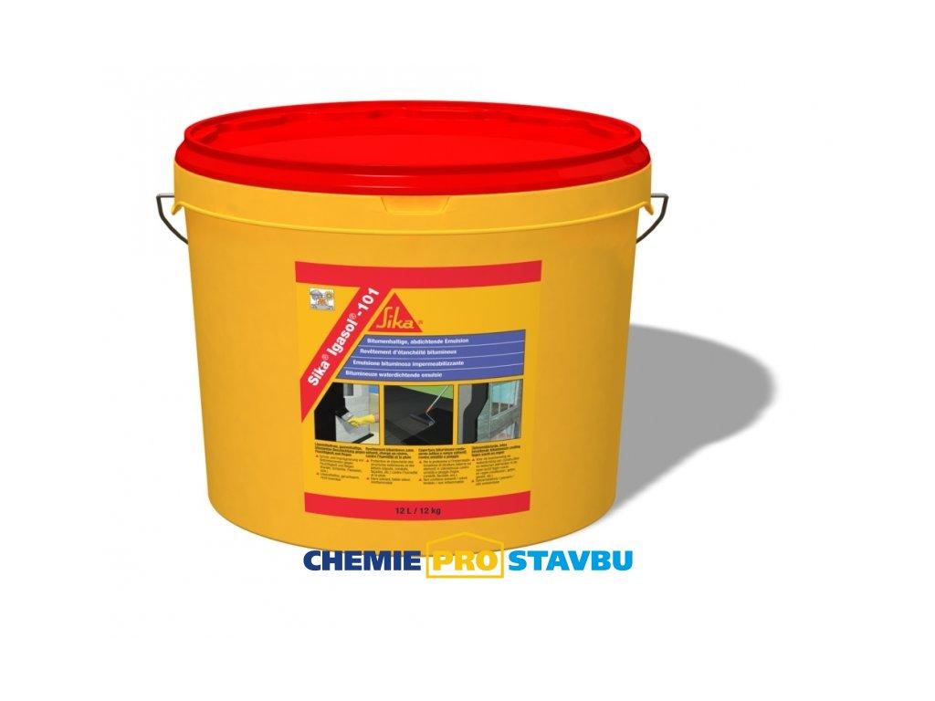 SIKA Igasol -101 5l, 12l  hydroizolačný nátěr a penetrace pod asfaltové pásy a stěrky