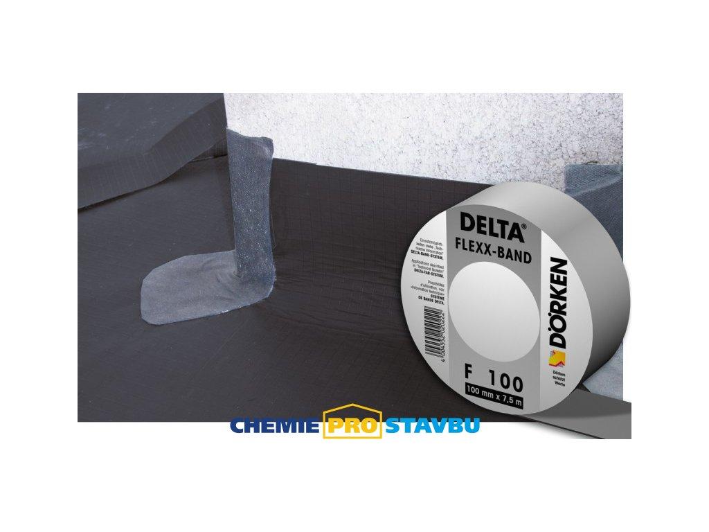 Dörken DELTA FLEXX BAND F 100 - lepicí průtažná páska pro fólie DELTA