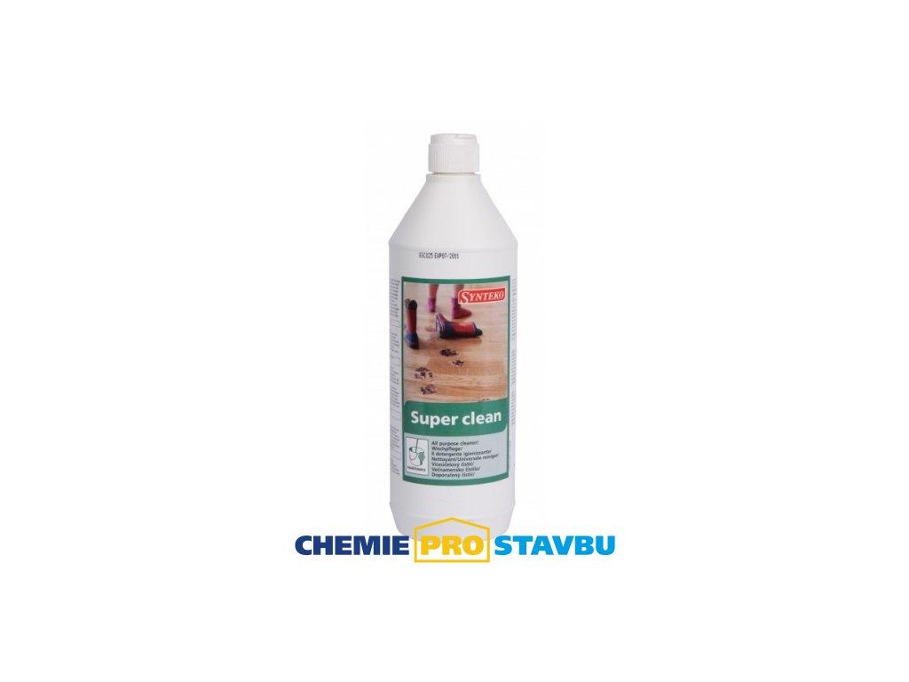 Synteko SUPER CLEAN, 1l - čistící a ochranný prostředek na lakované podlahy