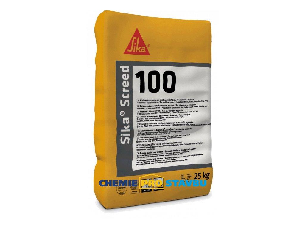 Sika Screed - 100, 25 kg - maltová směs pro zhotovení potěrů