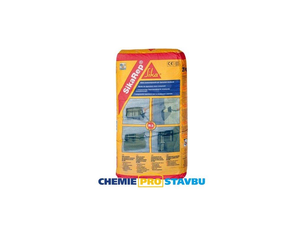 SikaRep Cosmetic L, 20 kg - jemná malta pro kosmetiku betonu
