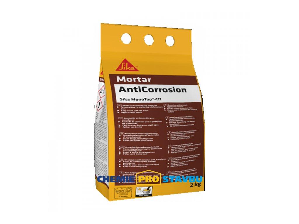 Sika  Mini Pack MonoTop-111 AntiCorrosion - ochrana výztuže / adhezní můstek -  2kg