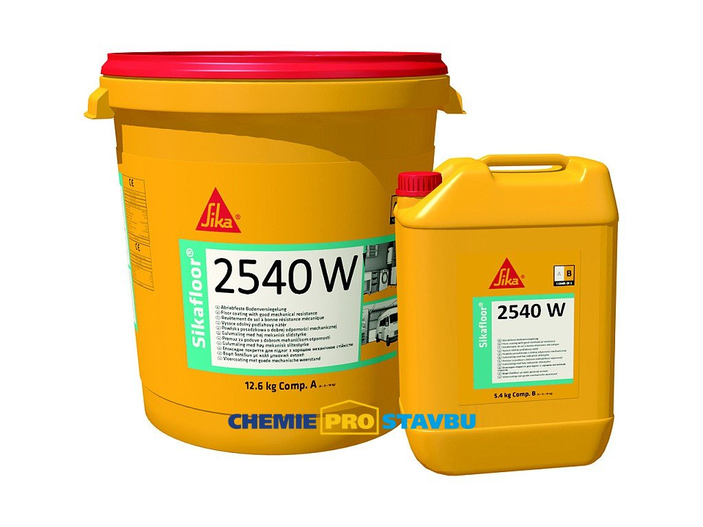 Sikafloor  2540 W - barevný epoxidový podlahový nátěr