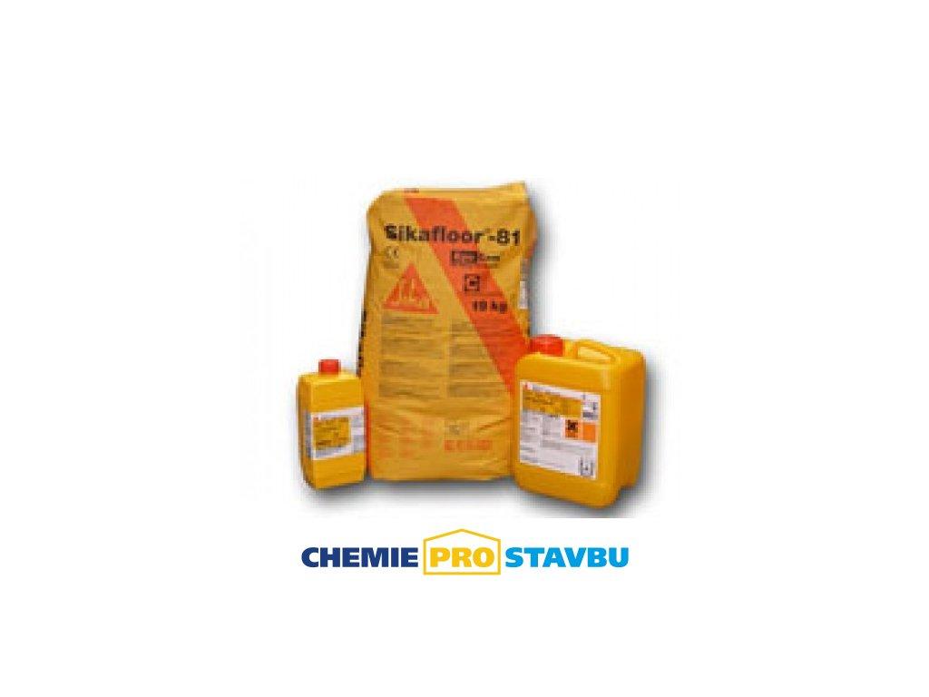 Sikafloor 81 EC, 23kg - epoxicementová malta pro podlahové stěrky
