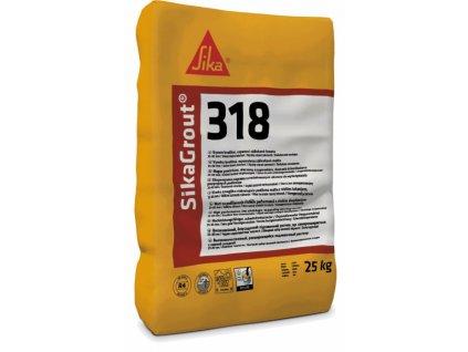 SikaGrout-318  25 kg cementová zálivková malta vrstva 25 - 80 mm