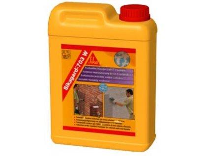 Sika impregnace  Sikagard 703 W 2l, 5l - impregnace, čištění betonové dlažby, fasád a stěn