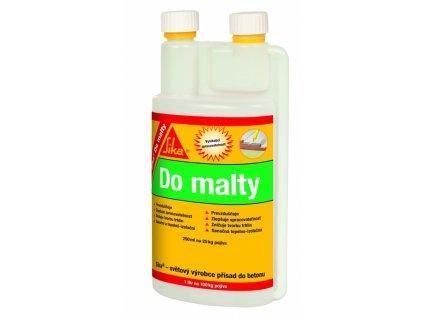 Sika Do malty, 1l - přísada zlepšuje zpracovatelnost malty