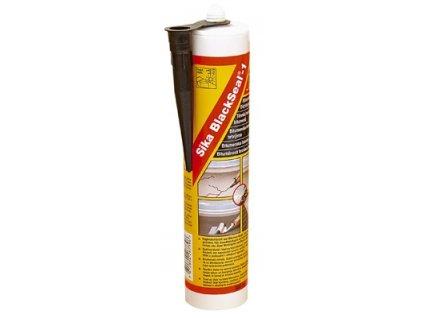 SikaBlackSeal -1 300ml, černá - těsnící tmel na bitumenové bázi, opravy střech a okapů