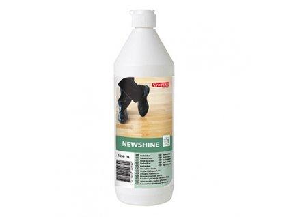 Synteko NEWSHINE, 1l - leštící a renovační prostředek na dřevěné podlahy