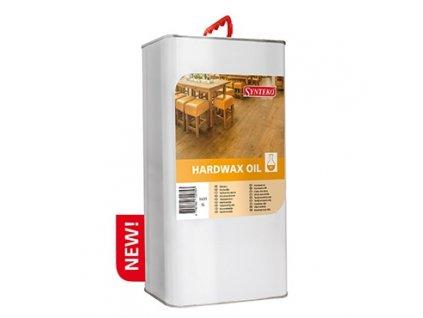 Synteko HARDWAX OIL 1l, 5l - lněný olej bez rozpouštědel