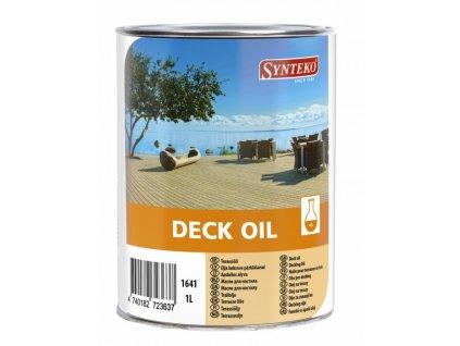 Synteko DECK OIL 1l, 5l - palubkový olej pro základní ošetření