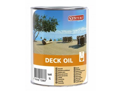 Synteko DECK OIL - palubkový olej pro základní ošetření