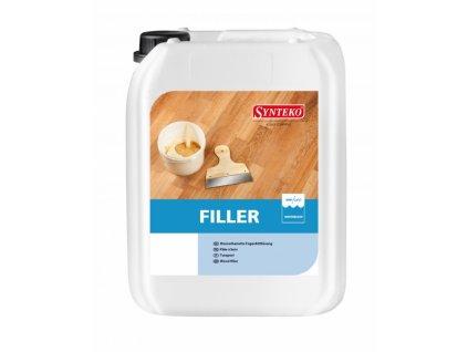 SYNTEKO FILLER, 5 l - plnící směs pro tmelení dřevěných podlah