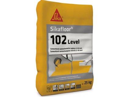 Sikafloor 102 Level, 25 kg, stěrka pro vyrovnání podkladů v interiérech