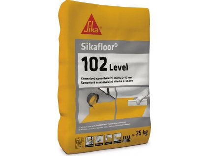 Sikafloor 102 Level, 25 kg - stěrka pro vyrovnání podkladů v interiérech