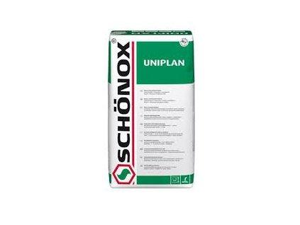 Schönox Uniplan, 25kg - cementová samonivelační stěrka