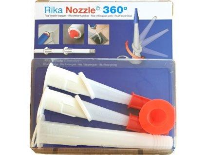 RIKA flexibilní špičky - pomocník pro tmelení a lepení těžko přístupných detailů