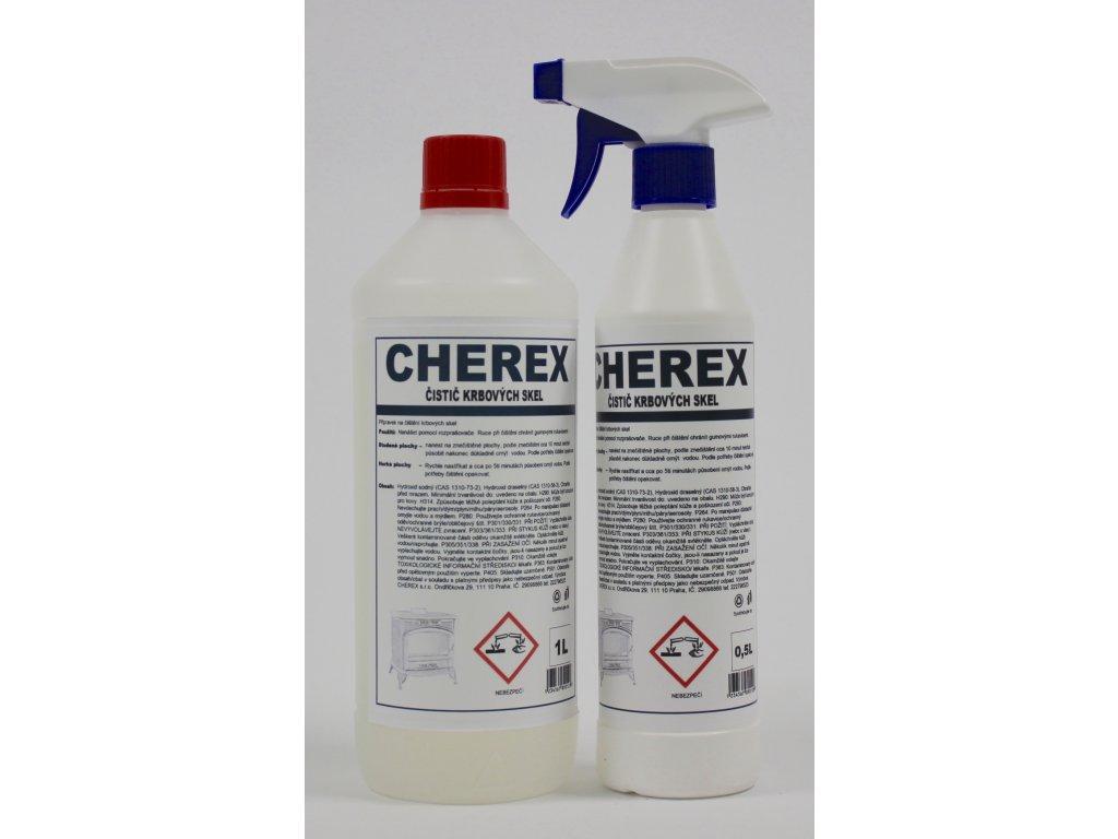 CHEREX - Krbová skla