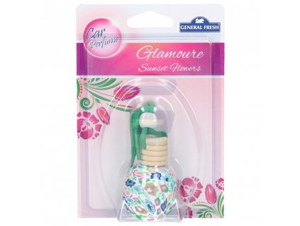 general fresh car perfume glamour odswiezacz samochodowy sunset flowers 1 szt.