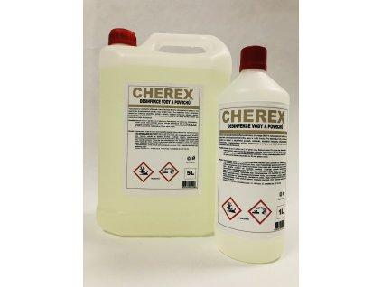 CHEREX - Dezinfekce vody a povrchů