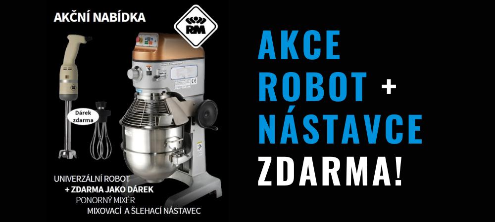 Akce Robot + nástavce ZDARMA!