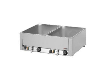Vodní lázeň s výpustí REDFOX 2x GN 1/1 BMV-2115