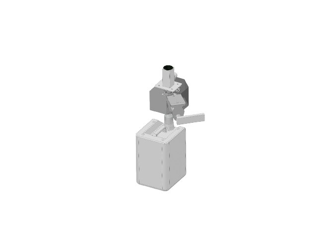 Manuální sada Pollo pro neutrální skříňku a vysoký otevřený podstavec UNOX XUC020