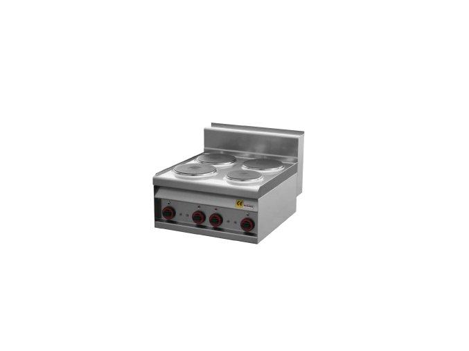 Sporák stolní čtyřplotýnkový REDFOX PC 6 ET