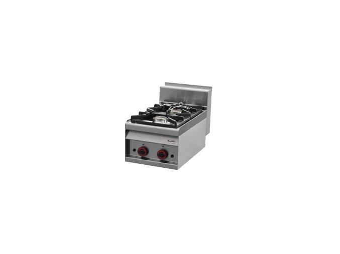 Sporák stolní plynový - 2 hořáky - REDFOX PC 4 G
