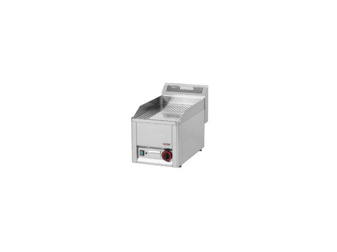Grilovací deska rýhovaná chrom REDFOX GDRLC 33 EM