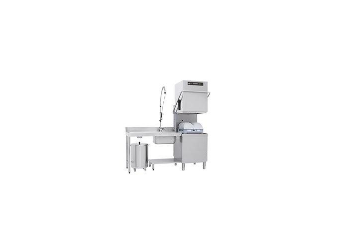RM Gastro Myčka průběžná Dvouplášťová 112 REC ABT
