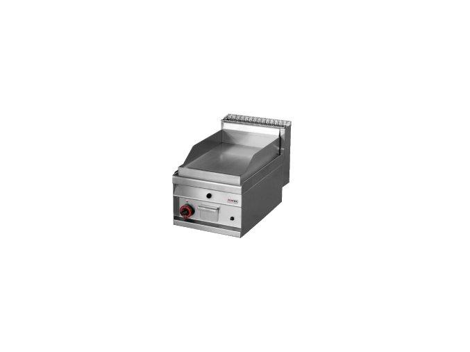 Grilovací deska plynová chromovaná hladká REDFOX FTL 4 GS