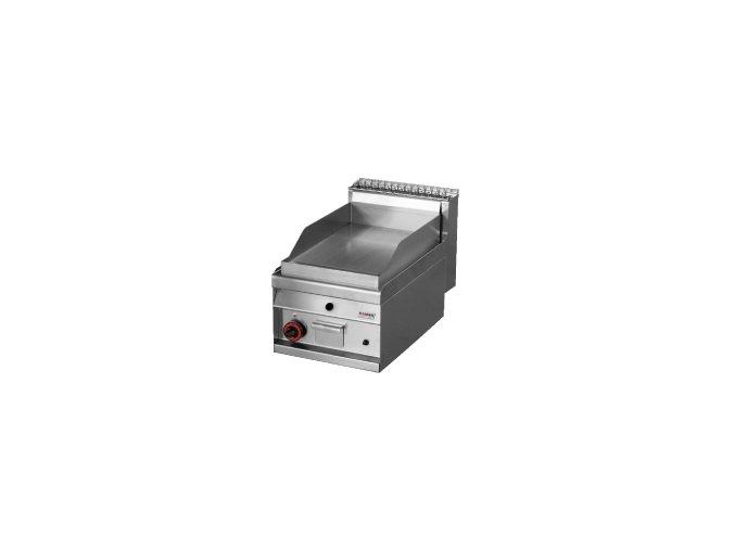 Grilovací deska plynová chromovaná rýhovaná REDFOX FTR 4 GS