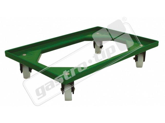 Vozík Complastec - plast. kolečka, 4 ot.kolečka