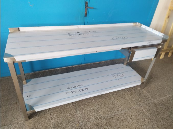 Stůl s šuplíkem (1850x600x900)