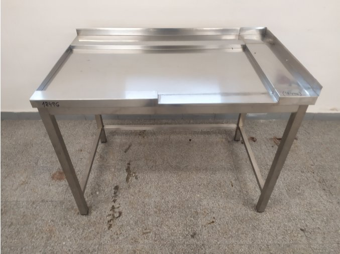 Stůl k průběžné myčce (1200x745x890)