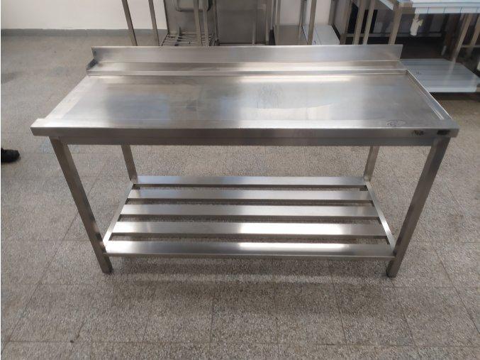 Stůl k průběžné myčce (1600x710x900)