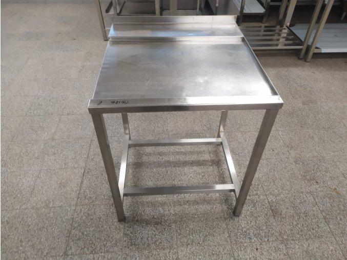 Stůl k průběžné myčce (740x810x870)