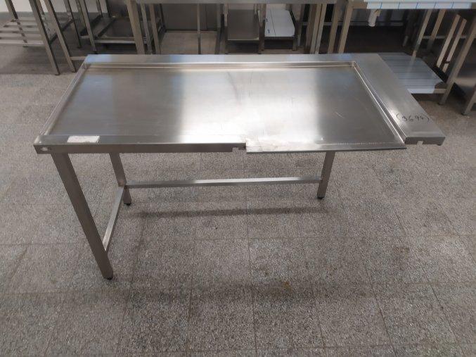 Stůl k průběžné myčce (1400x700x900)