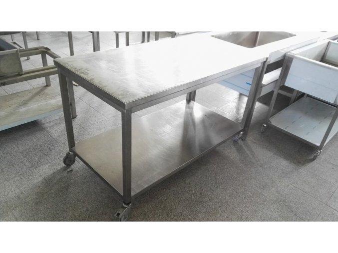 Pojizdný stůl (1500x800x900)