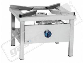 Plynová nerezová stolička Asber GSPE-600