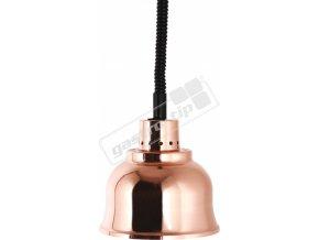 Infra - lampa závěsná (⌀23) měď
