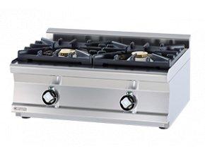 Plynový vařič čínský PC2T 68 G WOK