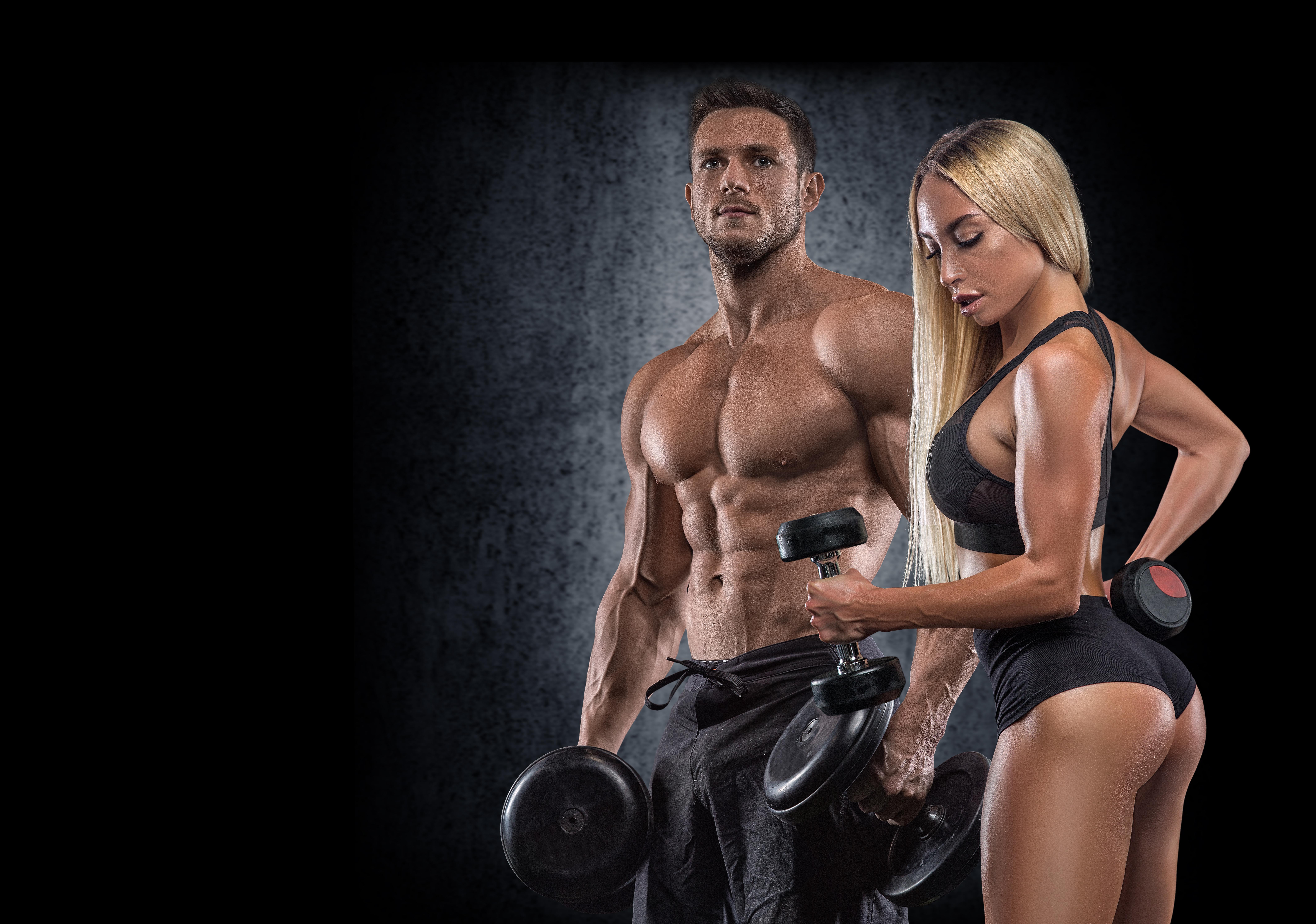 Jak na budování svalové hmoty