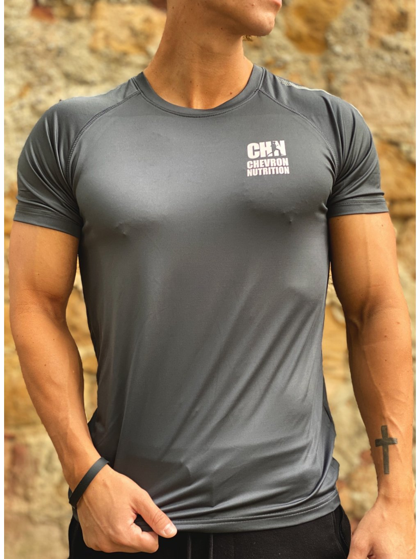 Pánské funkční tričko Heather s logem CHN