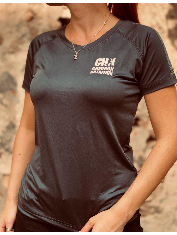 Dámské funkční tričko Heather s logem CHN