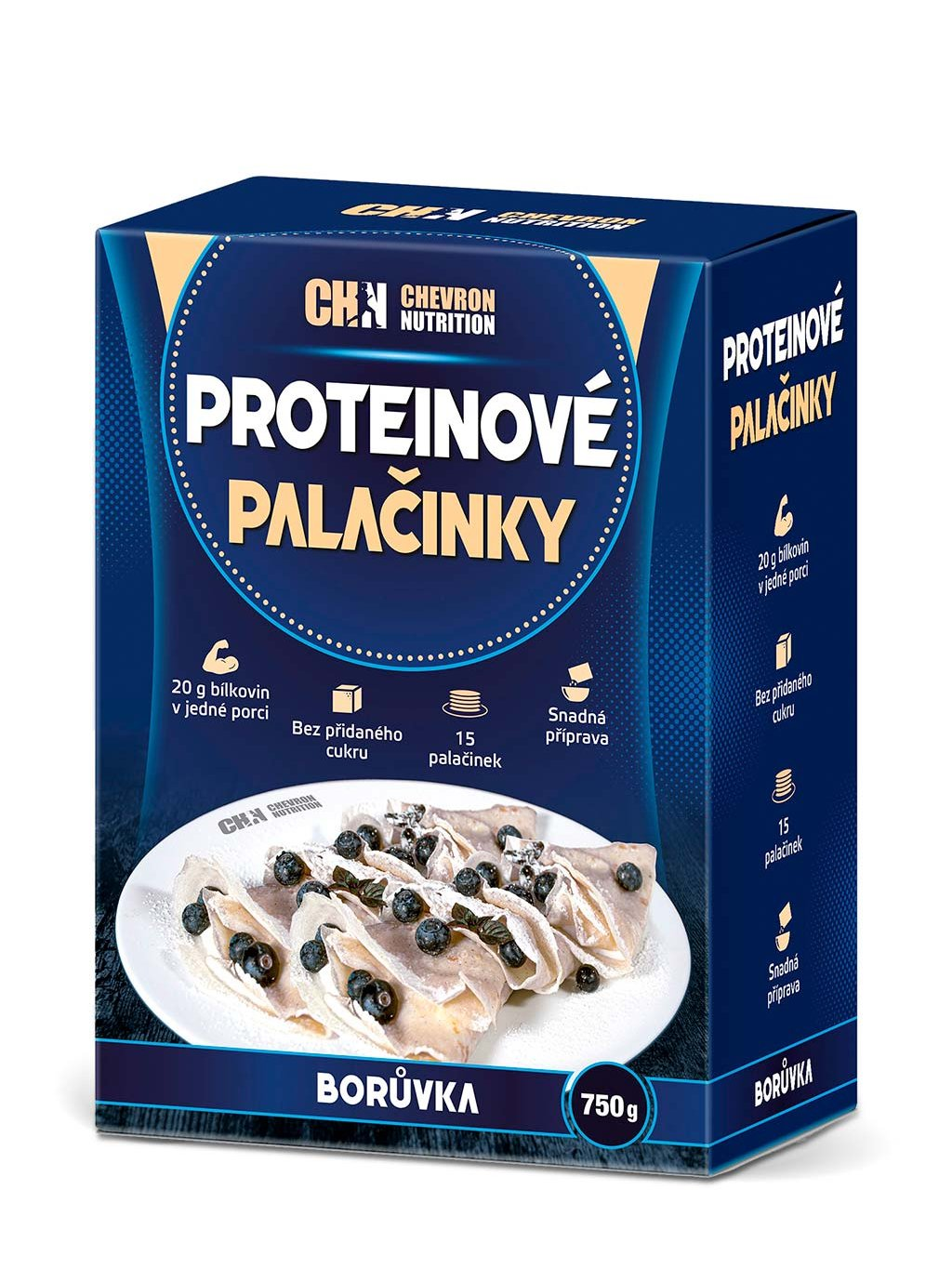 CHN Protein Crepes Blueberry CZ