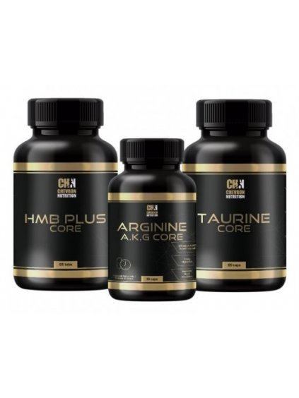 Arginine A.K.G. Core + HMB Core Plus + Taurine Core