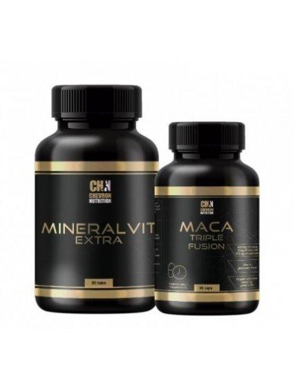 Maca Triple Fusion + MineralVit Extra