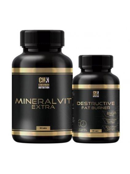 Destructive Fat Burner + MineralVit EXTRA